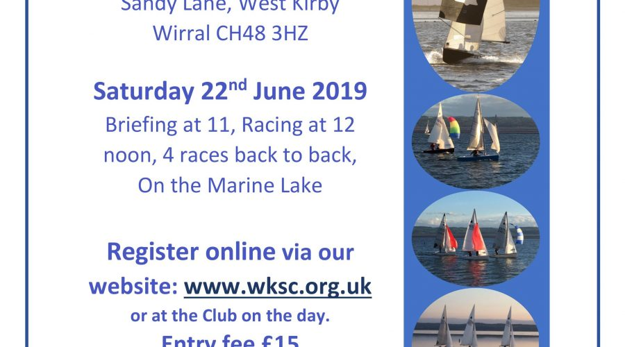 GP14 Open at West Kirby Sailing Club – Northern Bell 2019