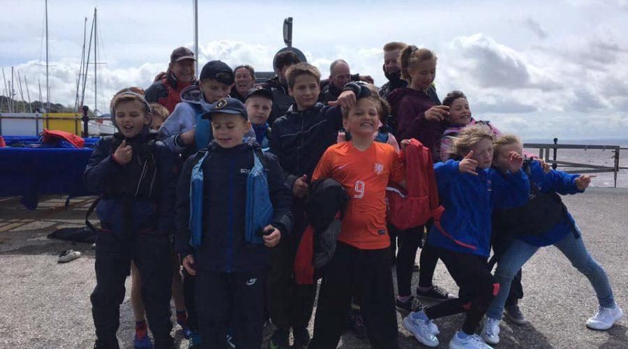 Children from Belarus visit West Kirby Sailing Club